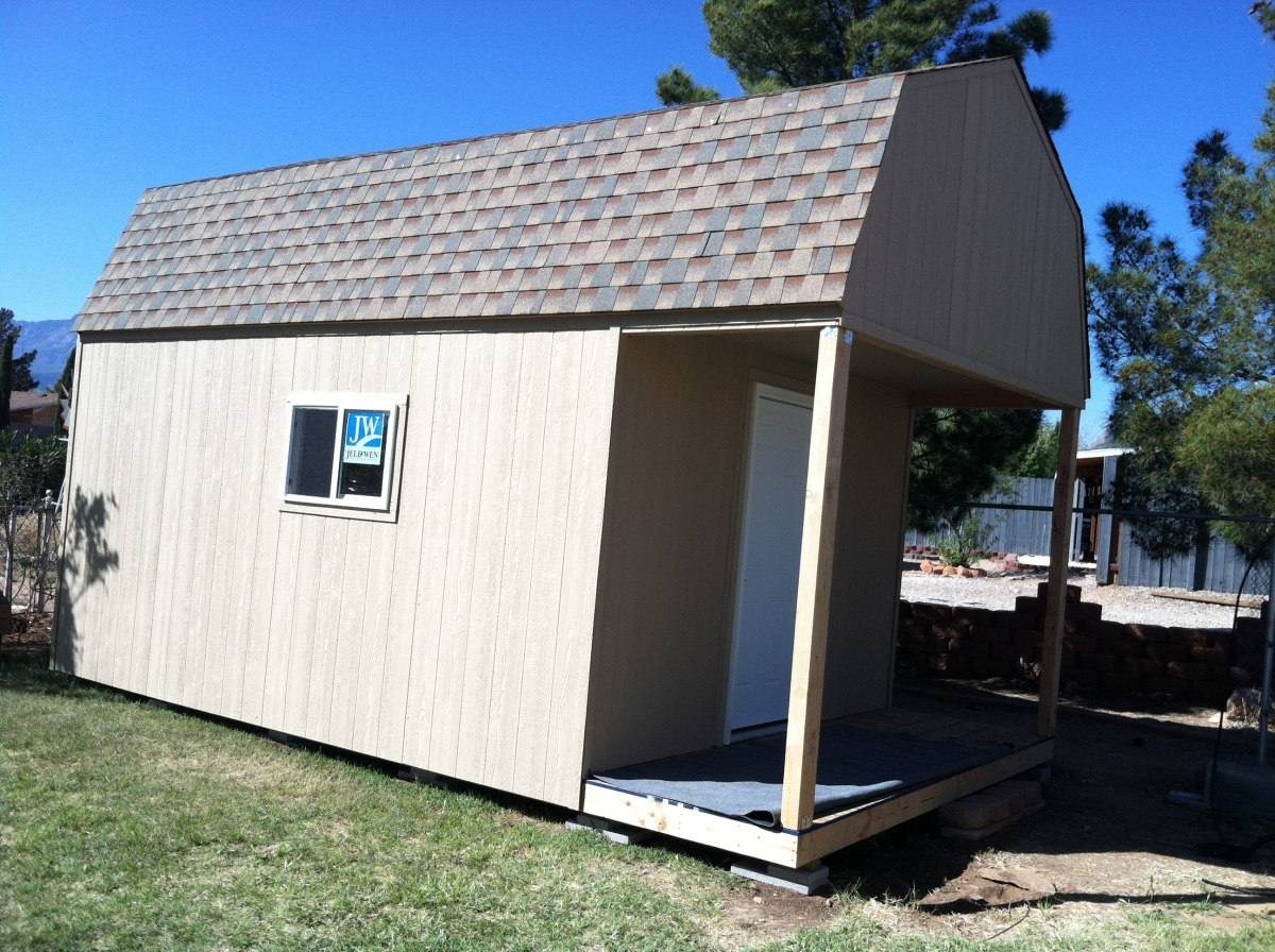 The tall barn affordable sheds for Affordable barns and garages